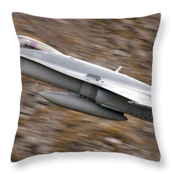 f18 Throw Pillow by Angel  Tarantella