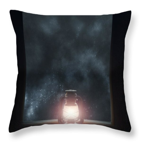 Lantern Throw Pillow by Joana Kruse
