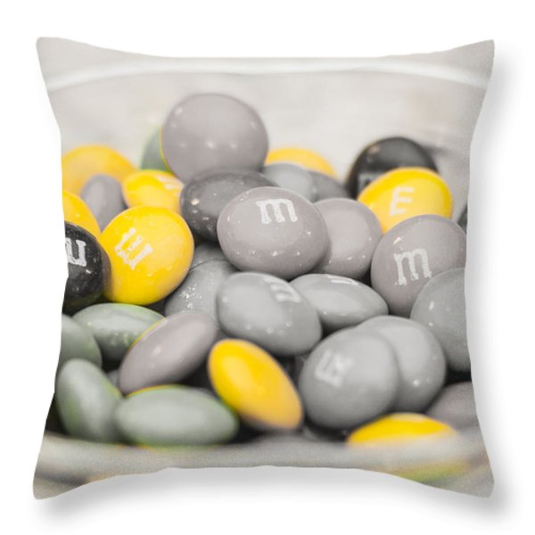 Melt In Your Mouth Throw Pillow by Andy Crawford
