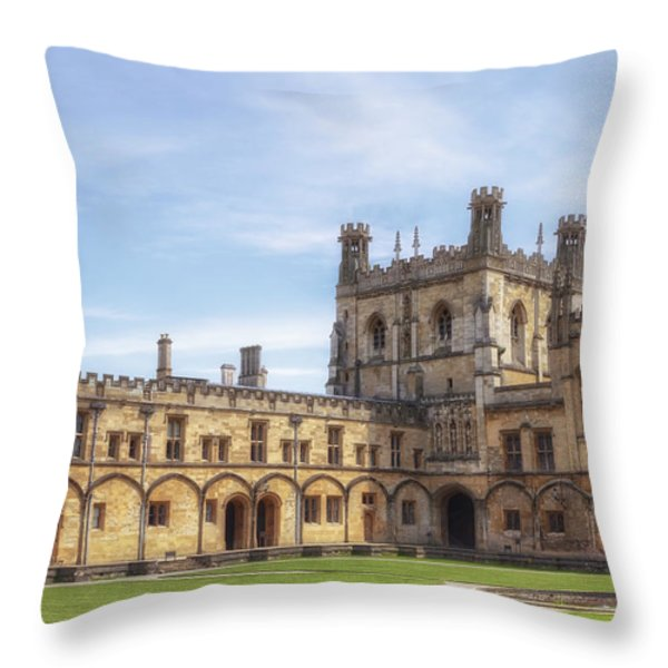 Oxford Throw Pillow by Joana Kruse