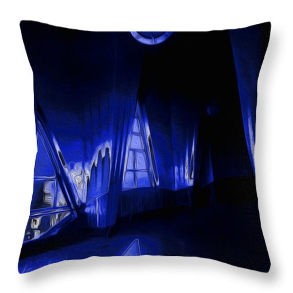 6 O'Clock  Throw Pillow by Jack Zulli
