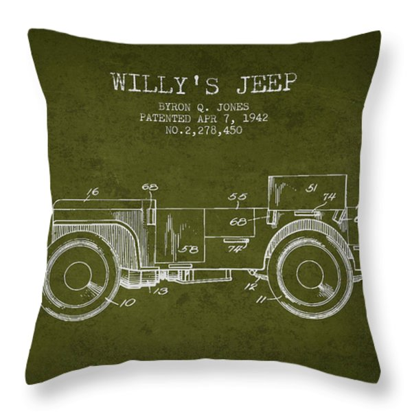 Throw Pillows Kmart : Jeep Throw Pillows for Sale