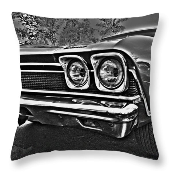 68 Chevelle Throw Pillow by Cheryl Young