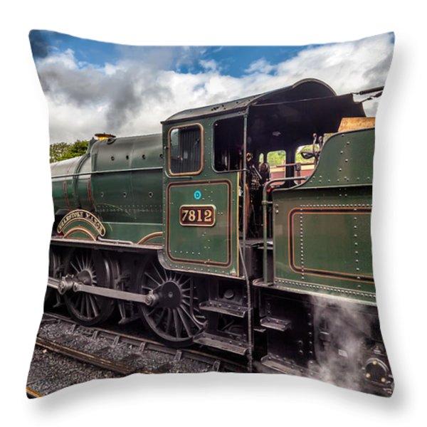 7812 Erlestoke Manor Throw Pillow by Adrian Evans