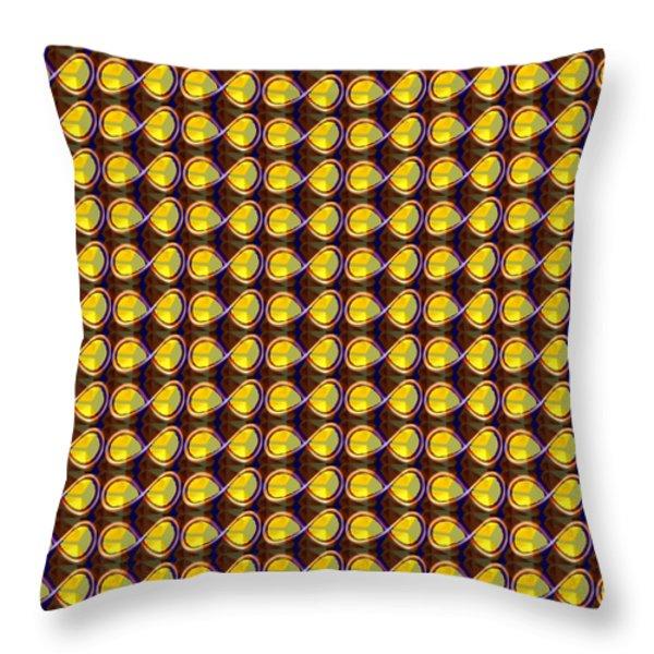 DIY Template Jewels Diamonds Pattern Graphic Sparkle multipurpose art Throw Pillow by NAVIN JOSHI