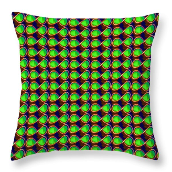 INFINITY Infinite SYMBOL Elegant Art and Patterns Throw Pillow by NAVIN JOSHI