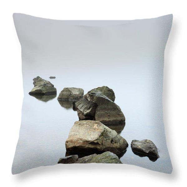 Loch Lomond Throw Pillow by Grant Glendinning