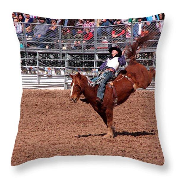 A Bumpy Ride Throw Pillow by Joe Kozlowski
