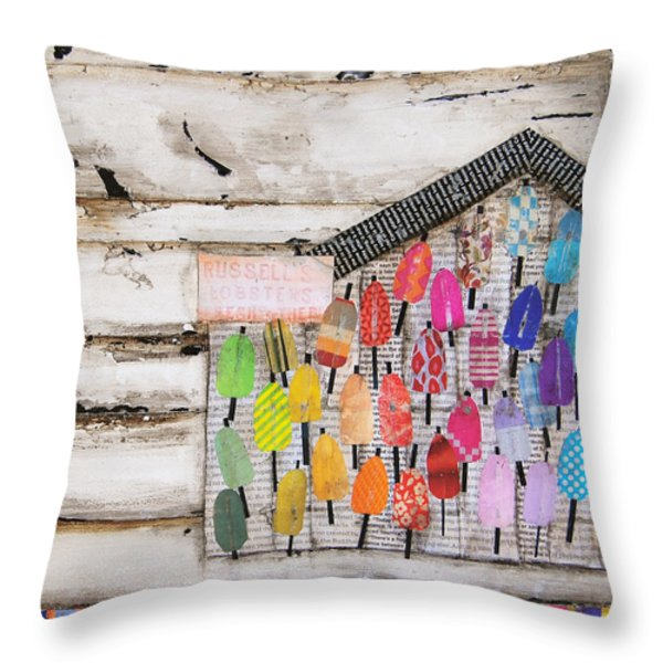 A Colorful Existence Throw Pillow by Danny Phillips