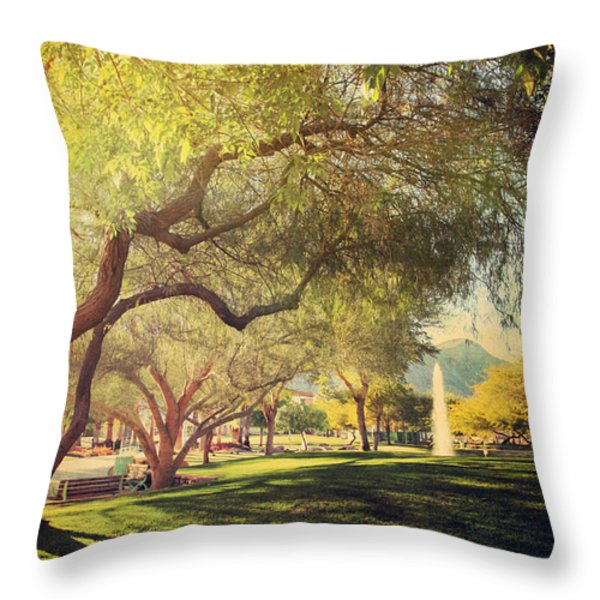 A Day for Dreaming Throw Pillow by Laurie Search