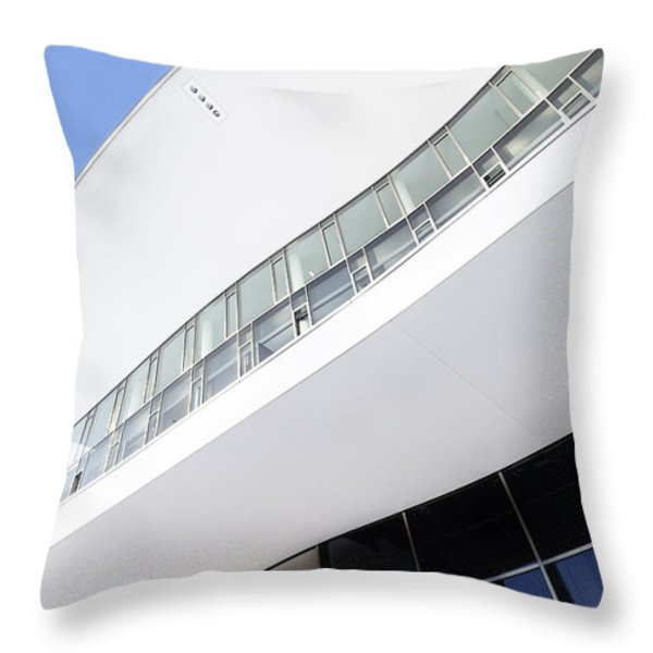 A Different Milan Throw Pillow by Alfio Finocchiaro