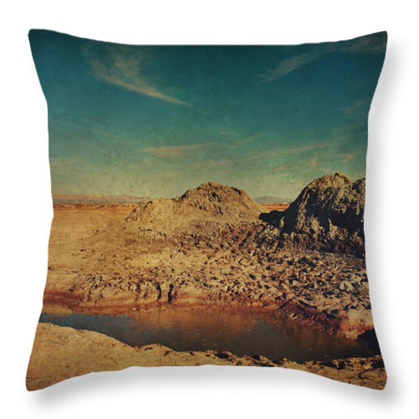 A Far Off Place Throw Pillow by Laurie Search