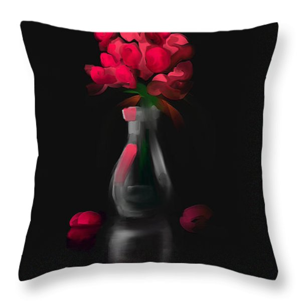 A Gift For Her Throw Pillow by Steven Lebron Langston