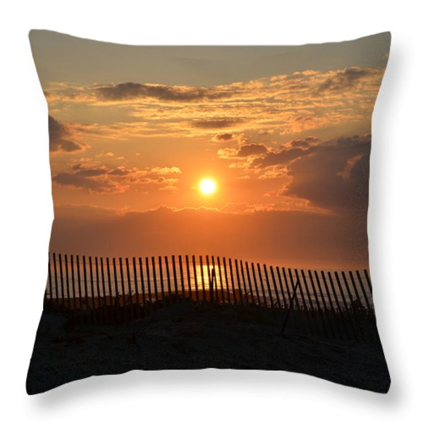 A Great Way to Start the Day Throw Pillow by Bill Cannon
