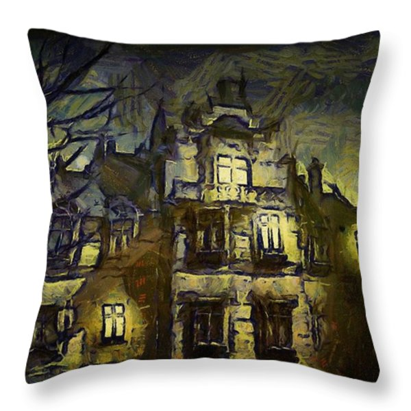 a la van Gogh Throw Pillow by Gun Legler