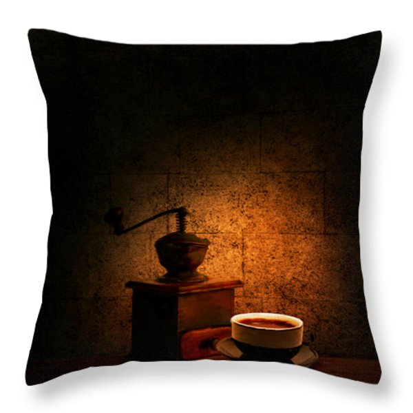 A Look At The Past Throw Pillow by Lourry Legarde
