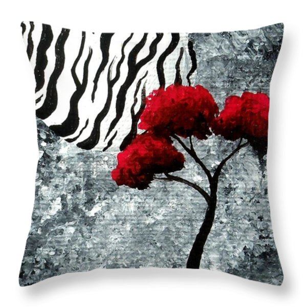 A Love Story No 23 Throw Pillow by Oddball Art Co by Lizzy Love