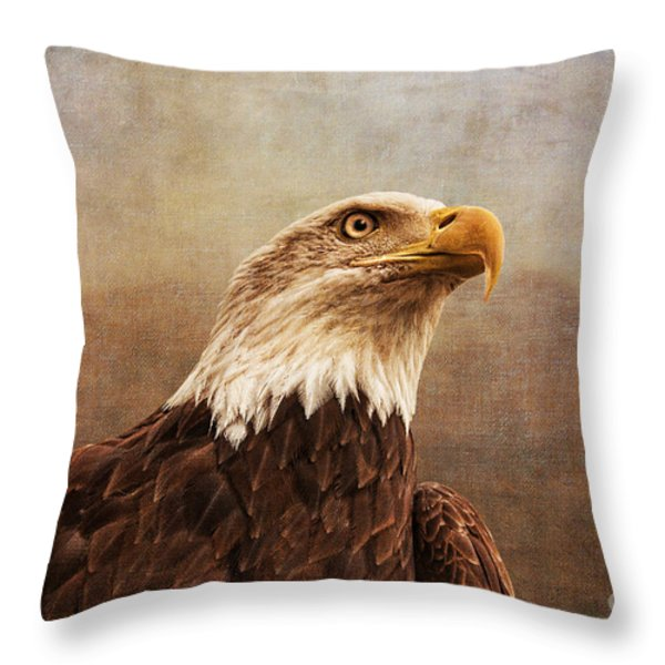 A Majestic Creature Throw Pillow by Cindy Tiefenbrunn