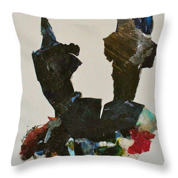 A Match Made In Heaven Throw Pillow by Mary Sullivan