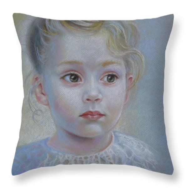 A Moment Of Reverie Throw Pillow by Elena Oleniuc