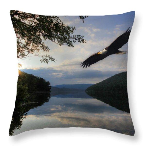 A New Beginning Throw Pillow by Lori Deiter