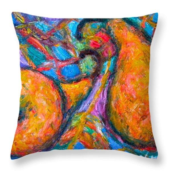 A Pair Throw Pillow by Kendall Kessler