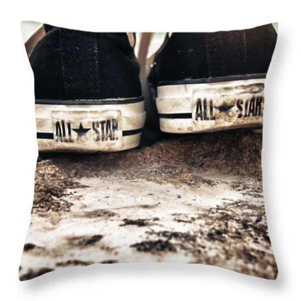 A Pair Of Stars Throw Pillow by Stylianos Kleanthous