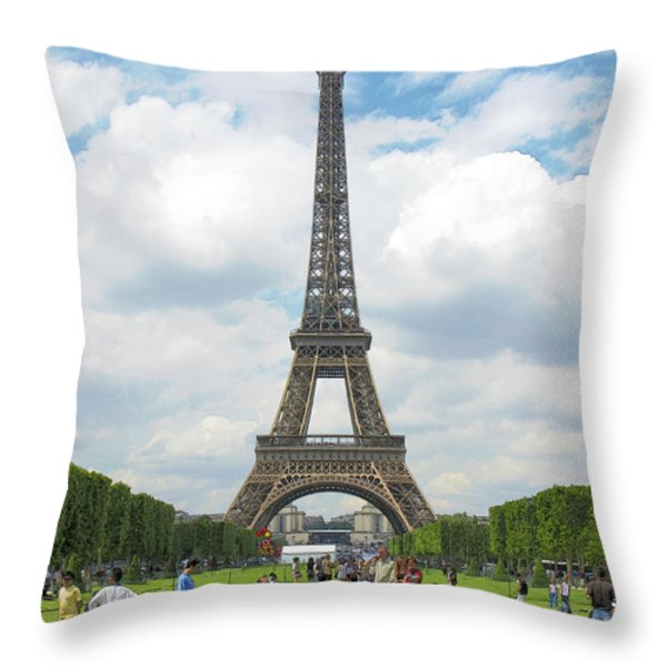 A Perfect Day Throw Pillow by Douglas J Fisher