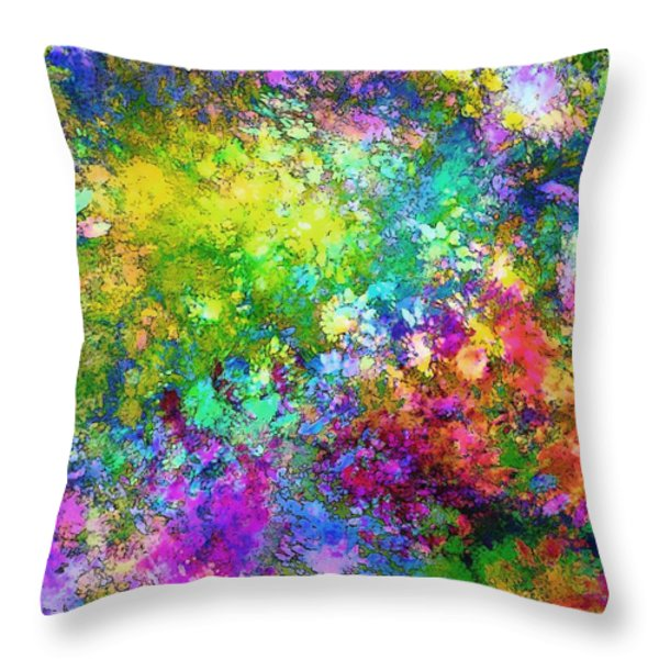 A Piece Of Summer Throw Pillow by Klara Acel