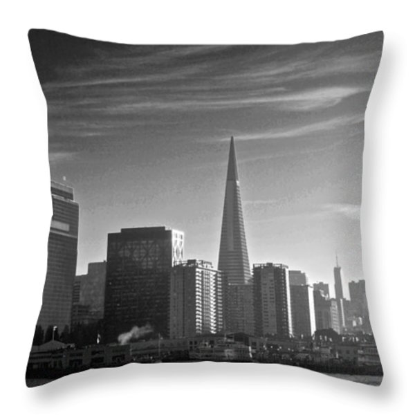 A Place To Leave Your Heart Throw Pillow by Eric Tressler