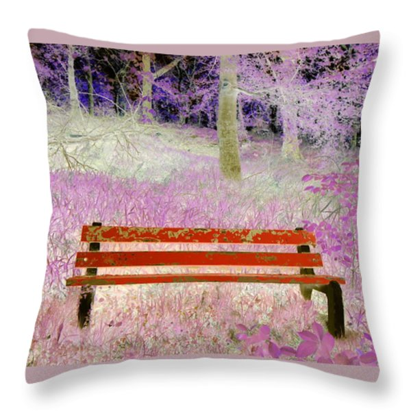A Place To Rest Throw Pillow by The Creative Minds Art and Photography