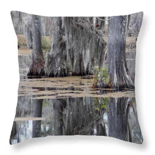 A Place To Sit And Listen Throw Pillow by John  Glass