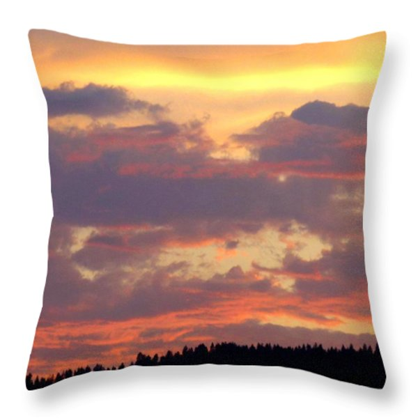 A Remarkable Sky Throw Pillow by Will Borden