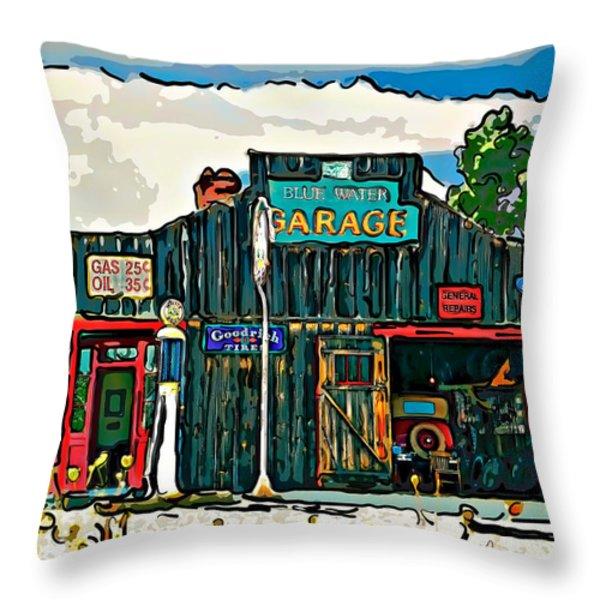 A Simpler Time 4 Throw Pillow by Steve Harrington