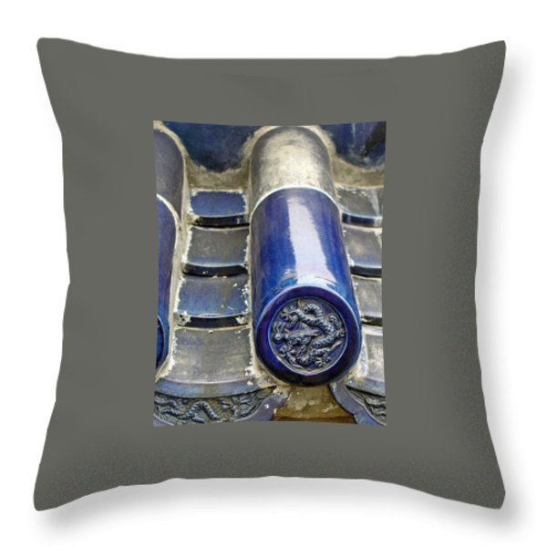 A Small Piece Of Heaven Throw Pillow by Jean Hall