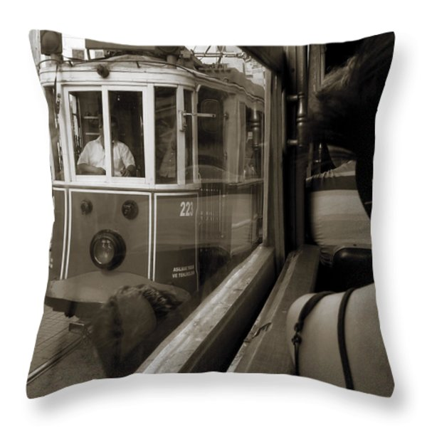 A Streetcar Named Desire Throw Pillow by RicardMN Photography
