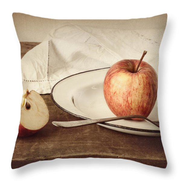 A Taste of Autumn Throw Pillow by Amy Weiss