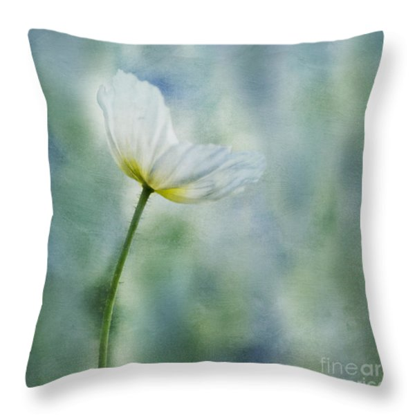 a vision of delight Throw Pillow by Priska Wettstein
