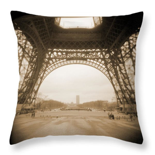 A Walk Through Paris 14 Throw Pillow by Mike McGlothlen