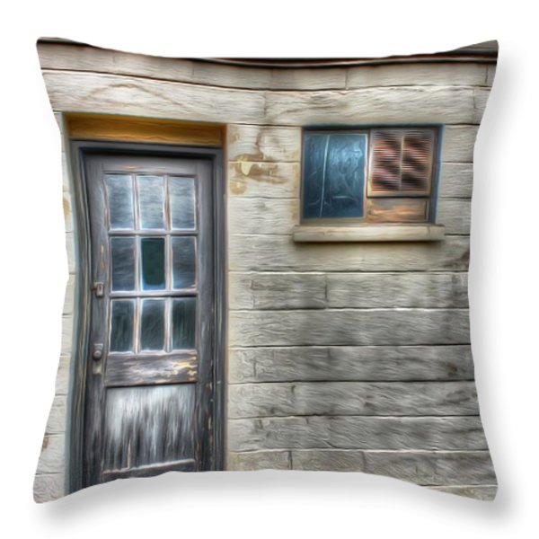 A Way To Escape Throw Pillow by Dan Stone