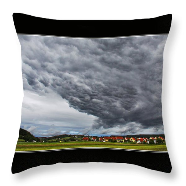 A Window to Switzerland Throw Pillow by Mountain Dreams