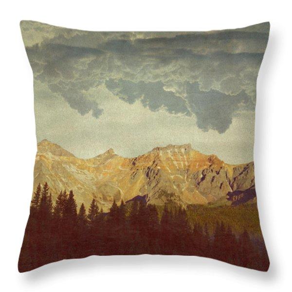 A World Of It's Own Throw Pillow by Brett Pfister