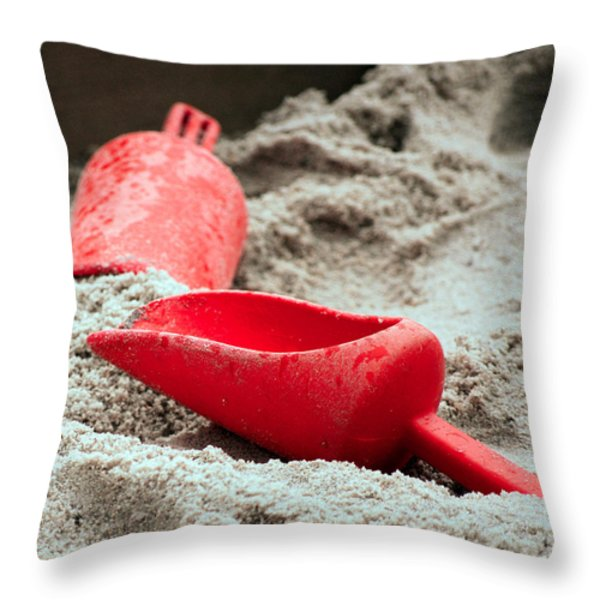 Abandoned Throw Pillow by Lisa  Phillips