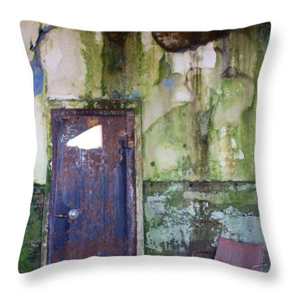 Aberdeen Chair Throw Pillow by Suzanne Lorenz
