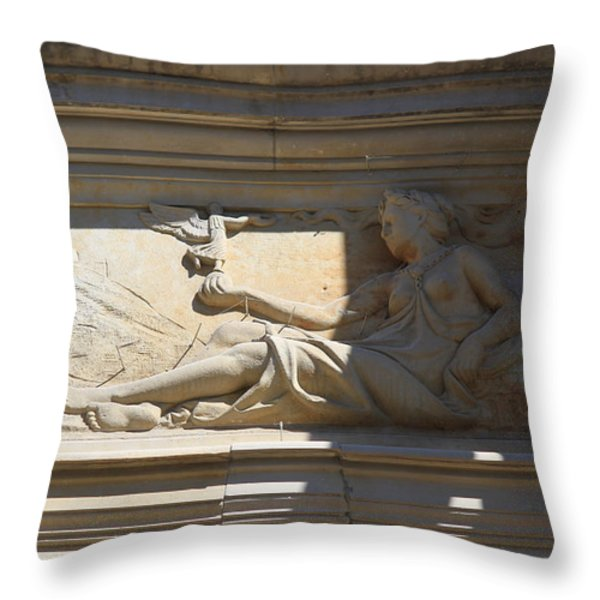 About Everything Throw Pillow by Four Hands Art