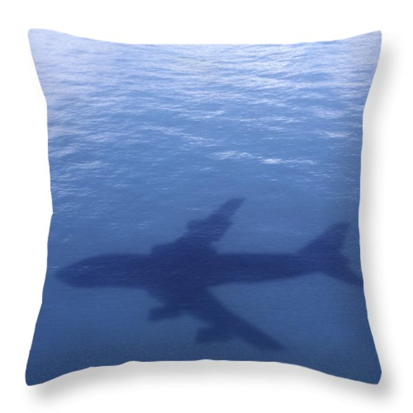 Above Mean Sea Level Throw Pillow by Daniel Furon