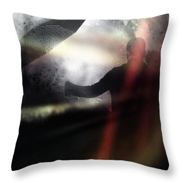 Absolute elsewhere Throw Pillow by Taylan Soyturk