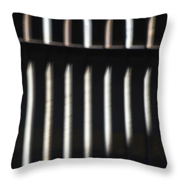 Abstract 16 Throw Pillow by Tony Cordoza