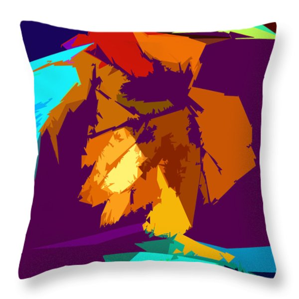 Abstract 3-2013 Throw Pillow by John Lautermilch