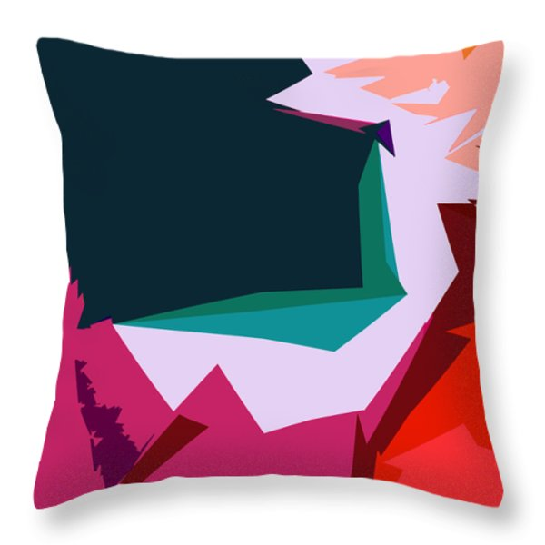 Abstract 4-2013 Throw Pillow by John Lautermilch
